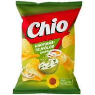 Chio chips hagymás-tejfölös 140g