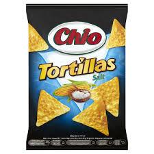 Chio Tortillas sós 125g