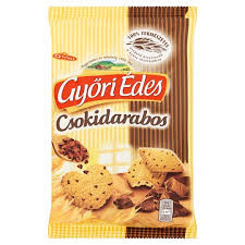 Győri édes csokidarabos 150g