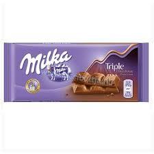 Milka 80-100g/Triple choco/