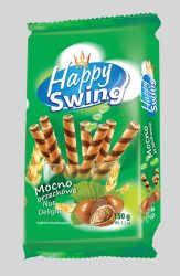 Happy Swing mogyorós ostyarúd 150g