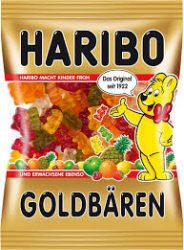 Haribo 80-100g/Goldbaren