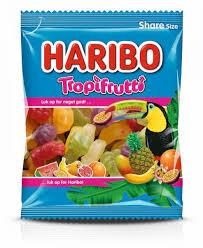 Haribo 80-100g/Tropi Frutti