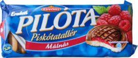 Győri piskóta tallér 147g/Málna