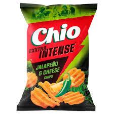 Chio Intense Jalapeno cheese 65g