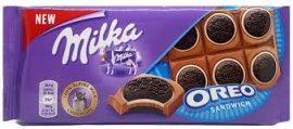 Milka 80-100g/Oreo-sandwich/