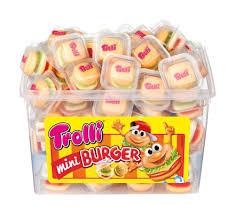 Trolli Hamburger 10g (60db)