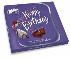 Milka Praliné 110-120g/Happy Birthday/