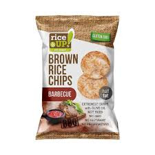 Rice Up Glut.ment chips 60g/Barbeque