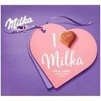 Milka Praliné 110g I Love/Epres/