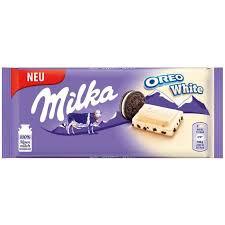 Milka 80-100g/Oreo FEHÉR/