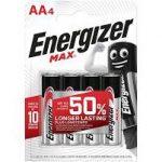 Energizer Max AA ceruza(4db)