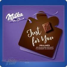 Milka Praliné 110g Just For You /kakaókrém/