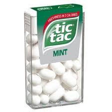 Tic Tac cukorka 16g Mentol