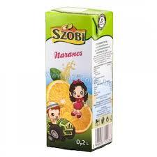 Szobi üdítő 0,2 liter Narancs