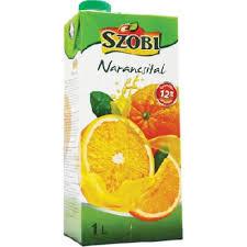 Szobi üdítő 1 liter Narancs