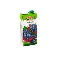 Szobi üdítő 1 liter Kék szőlő