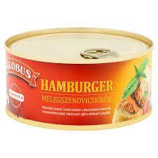 Glóbusz melegsz.krém 290g Hamburger