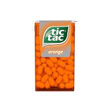 Tic Tac cukorka 16g Narancs