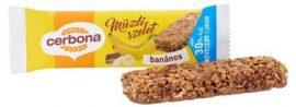Cerbona szelet 20-25g Banán