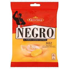 Negro cukorka 79g Mézes