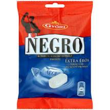 Negro cukorka 79g Extra erős