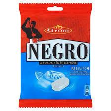 Negro cukorka 79g Mentol