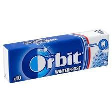Orbit drazsés rágó 14g S.kék