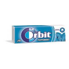Orbit drazsés rágó 14g V.kék
