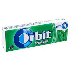 Orbit drazsés rágó 14g Zöld
