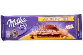 Milka 250-300g Csokis keksz