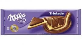 Milka 250-300g Triolade