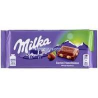Milka 80-100g/Egészmogyorós