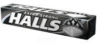 Halls cukor 33,5g/Exxtra Classic