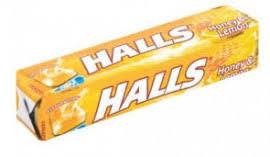 Halls cukor 33,5g/Mézes/