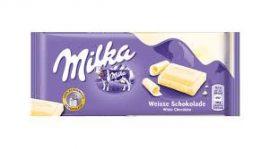 Milka 80-100g/Fehér/
