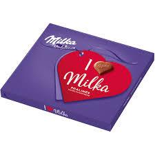 Milka Praliné 110g I Love/Nut/