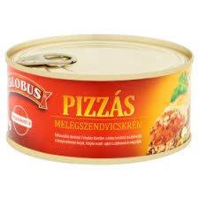 Glóbusz melegsz.krém 290g Pizza