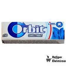 Orbit drazsés rágó 14g Sweetmint