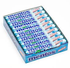 Mentos cukorka 38g Mint