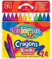 Colorino 24 db-os zsírkréta készlet