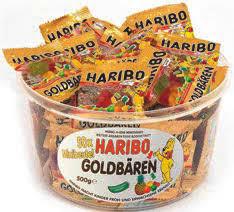 Haribo 50-es kördoboz Goldb.